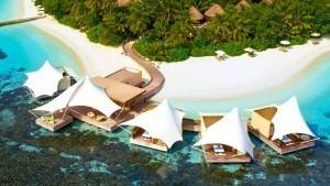 W hotel Maldives Spa Exterior