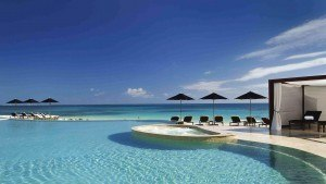 Rosewood Mayakoba, infinity edge pool